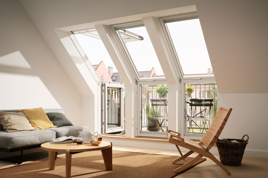 kleiner dachfenster von unserem partner velux. Black Bedroom Furniture Sets. Home Design Ideas